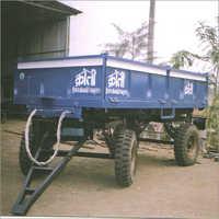 4 Wheel Dumping Trailer
