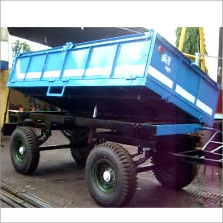 4 Wheel Hydraulic Dumping Trailer (Side Dumping)