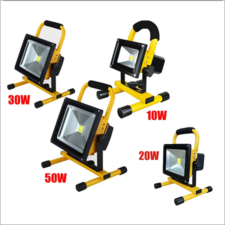 Portable Rechargeable Led Flood Lighting System