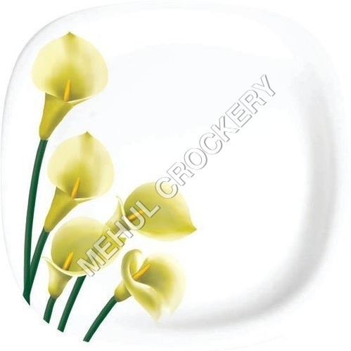 Five flowers Plates