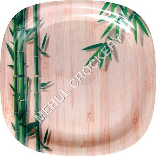 Green Bamboo Plate