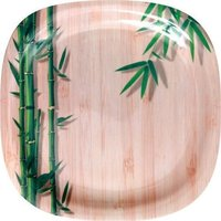 Green Bamboo Plate