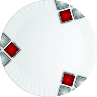 Red Square Plates