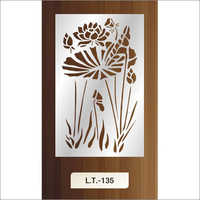 Stainless Steel Laser Cut Wall Art Design