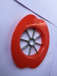 Red Virgin Plastic Apple Cutter