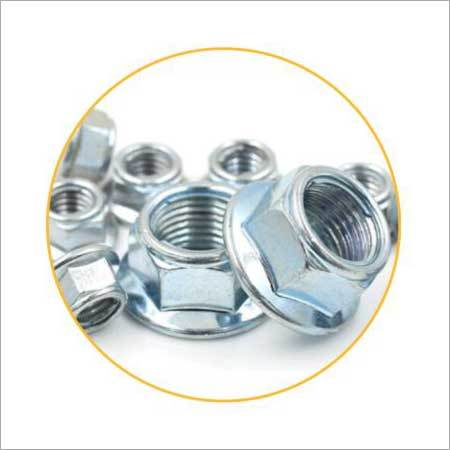 Metal Inset Flange Lock Nut