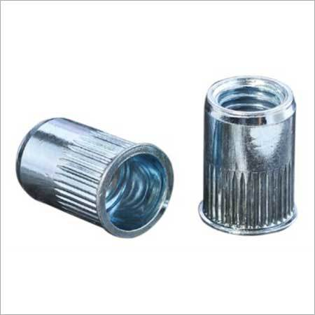 Reduced Head Knurled Body Rivet Nut