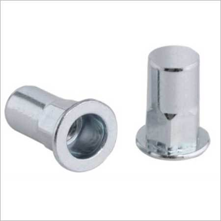 Flat Head Semi Hexagon Body Closed End Rivet Nut