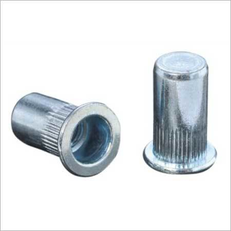 FH KBC Flat Head Knurled Body Closed Rivet Nut