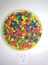 Colored Plastic CP Granules