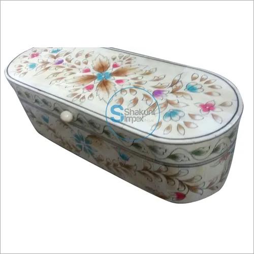 Bone inlay storage box
