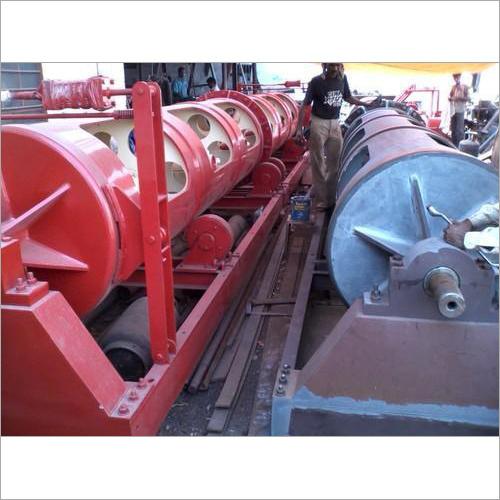 管状機械を座礁させる鋼線