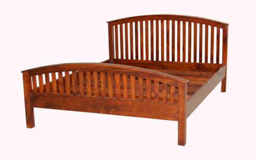 Solid Hardwood Bed