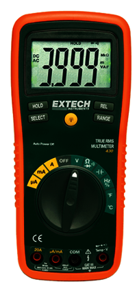 True RMS Professional MultiMeter EXTECH430