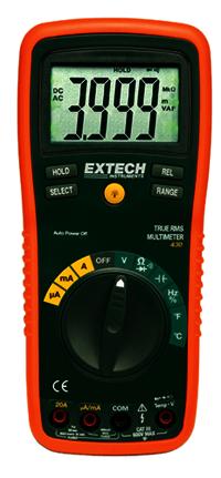 True RMS Professional MultiMeter EXTECH430