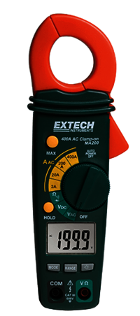 Extech MA200: 400A AC Clamp Meter