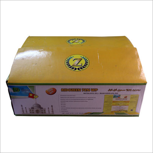 Printed Commercial Corrugated Box