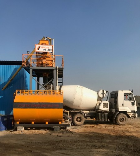 Stationary Ready Mix Concrete Plant
