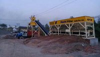 Stationary Concrete Batching Plant (Mixer Pan Type)