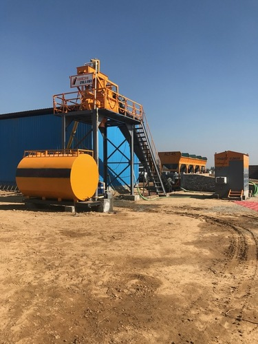 Stationary Concrete Mixer Batching Plant