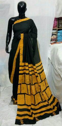 Hand Block Printed Saree