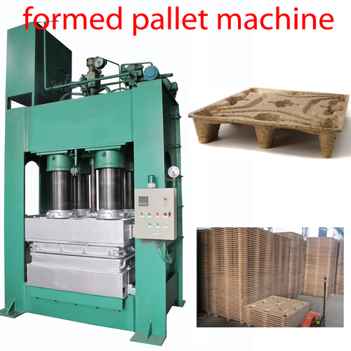 Compressed Wood Sawdust Pallet Machine