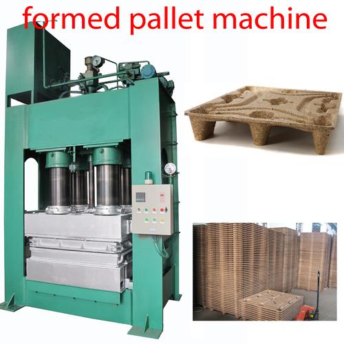 Compressed Sawdust Pallet Machine