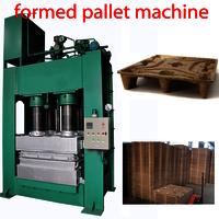 Compressed Wood Sawdust Pallet Machine