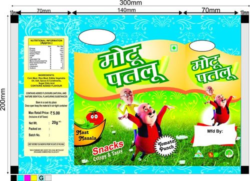 Snacks Packaging Pouches
