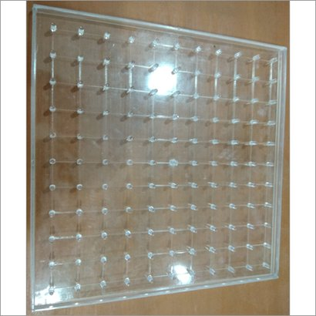Silver Acrylic Geo Board