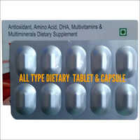 Antioxidant Multiminerals Vitamin Tablets