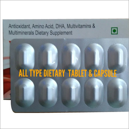 Nutraceutical Tablet and Capsule