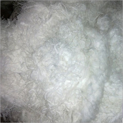 POLYESTER TEXTURISED WASTE WHITE