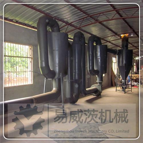 Airflow Sawdust Dryer Machine