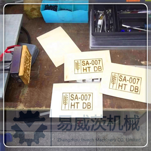 Movable Wood Pallet Feet Heat Stamp Tool