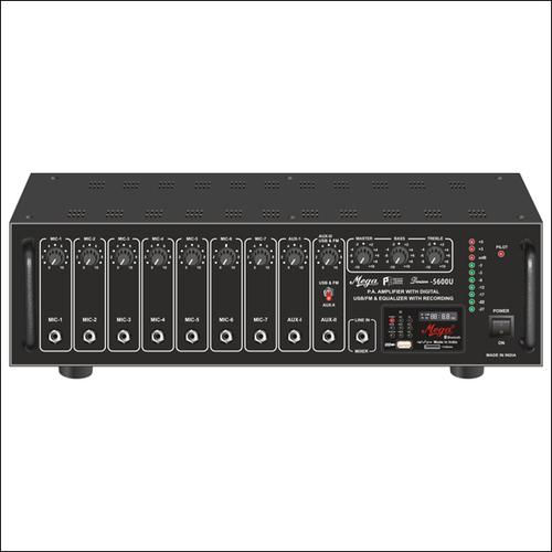 DJ & P.A. High Power Mixer Amplifiers DENSON-5600U