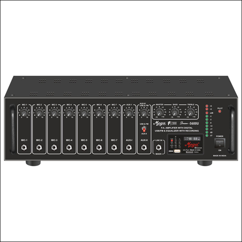 DJ & P.A. High Power Mixer Amplifiers DENSON-5600U