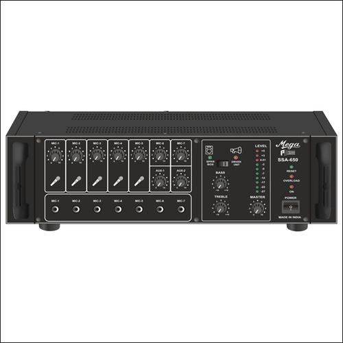DJ & P.A. High Power Mixer Amplifiers SSA-650