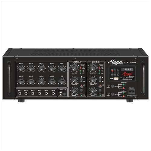 P. A. Twin Zone Power Amplifiers TZA-7000U