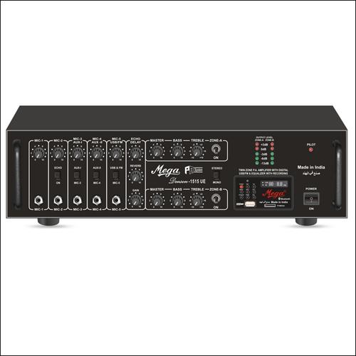 P. A. Twin Zone Power Amplifiers DENSON-1515UE