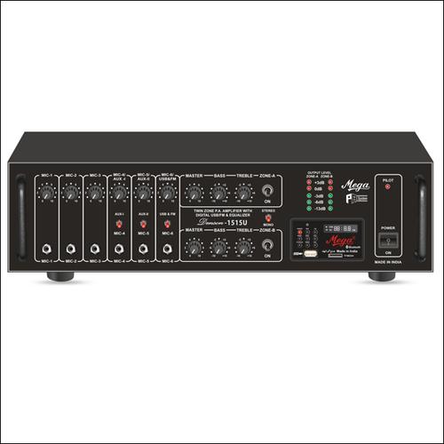 P. A. Twin Zone Power Amplifiers DENSON-1515U