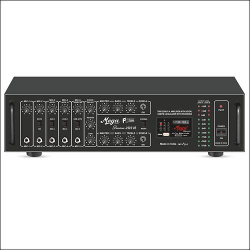 P. A. Twin Zone Power Amplifiers DENSON-2525UE