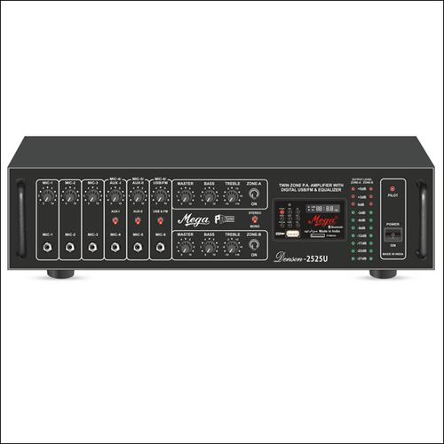 P. A. Twin Zone Power Amplifiers DENSON-2525U