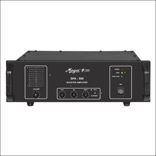 Zone Selector & P.A. Booster DJ Amplifiers SPA 500