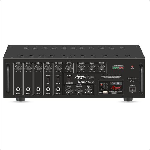 P.A. High Power Mixer Amplifiers DENSON-160UE