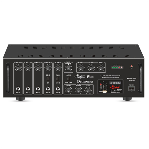 P.A. High Power Mixer Amplifiers DENSON-160UE