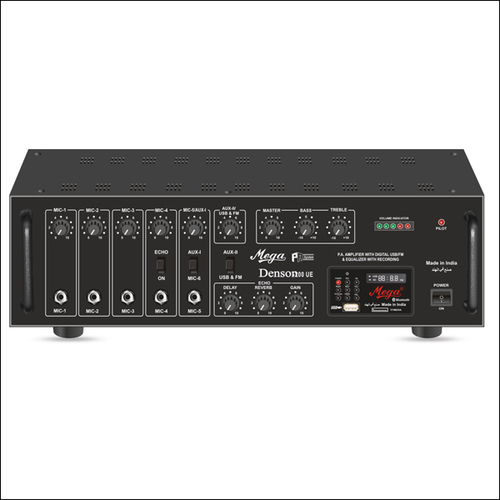 P.A. High Power Mixer Amplifiers DENSON-200UE