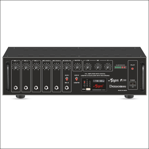 P.A. High Power Mixer Amplifiers