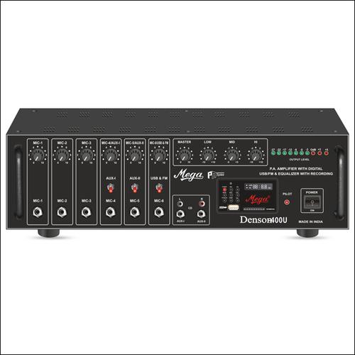 P.A. High Power Mixer Amplifiers DENSON-400U