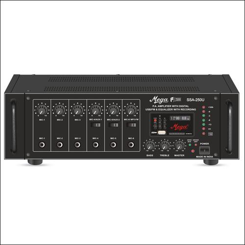 P.A. High Power Mixer Amplifiers SSA-250U